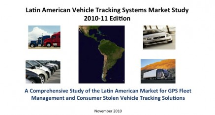 2010-11 Latin American Vehicle Tracking Systems Market Study