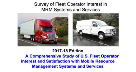 Survey of Fleet Operator Interest in MRM Systems and Services